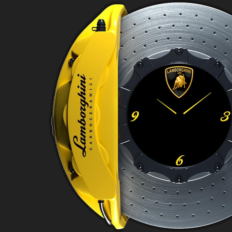 Lamborghini carbon ceramic brake disc