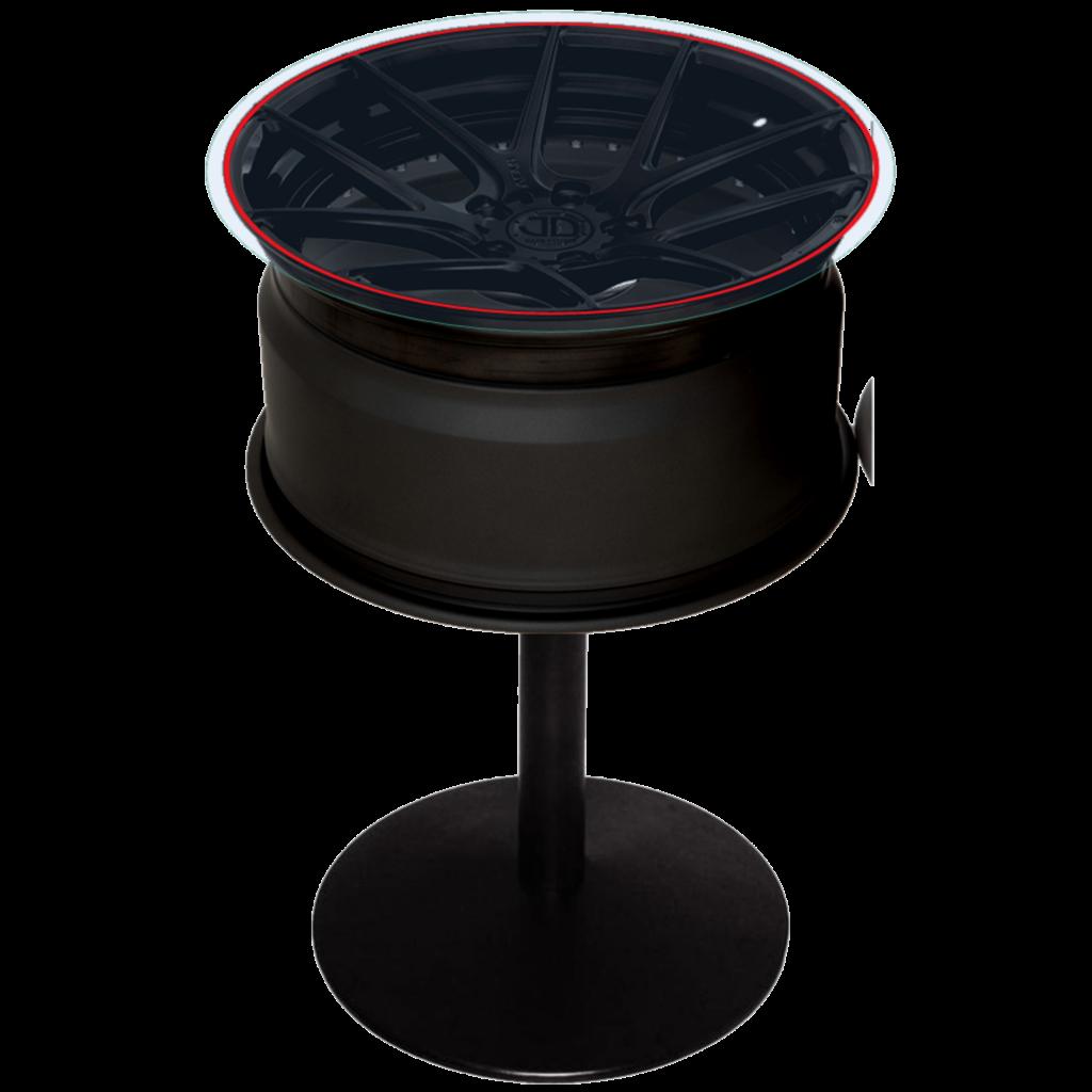 Ferrari table black